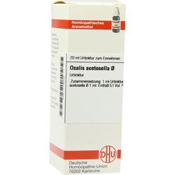 Oxalis Acetosella Urtinktur