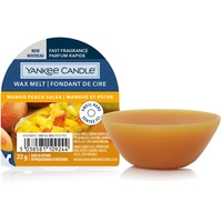 Yankee Candle Duftwachs Wax Melts | Mango Peach Salsa | bis zu 8 Stunden Duft | 1 Stück