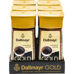 Dallmayr Gold Instantkaffee 200 g, 6er Pack