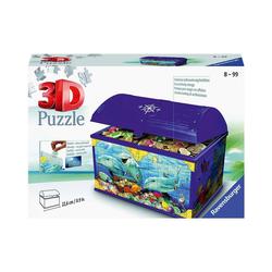 Ravensburger 3D-Puzzle Puzzle Aufbewahrungsbox Underwater World, 72 Teile, Puzzleteile