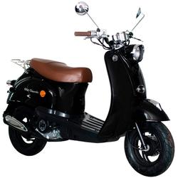 AGM MOTORS Motorroller GMX 460 Retro Classic, 50 ccm, 45 km/h, Euro 4 schwarz
