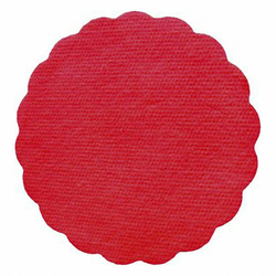 Tassenuntersetzer Glasuntersetzer, Airlaid, Ø 9cm, rot,  40 Stk.