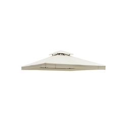 Outsunny Pavillonersatzdach Ersatzdach für Metall-Gartenpavillon