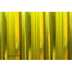Oracover 21-094-010 Bügelfolie (L x B) 10m x 60cm Chrom-Gelb