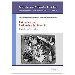 Faktuales und fiktionales Erzählen - Buch