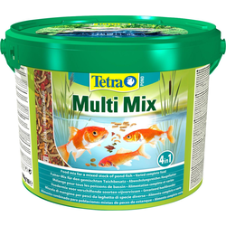 Tetra Fischfutter Pond Multi Mix, 10 Liter