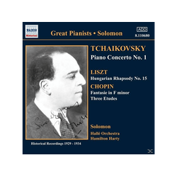 Solomon, Hamilton Harty, Halle O, Hamilton/halle O Solomon/harty - Klavierkonzert 1/+ (CD)