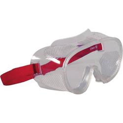 2661 Vollsichtbrille Rot DIN EN 166-1