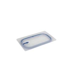 SCHNEIDER GN Deckel mit Silikondichtung, Robuster Deckel für GN-Behälter für den Gastrobedarf, Maße (L x B x H): 26,1 x 16,1 x 0,87 cm
