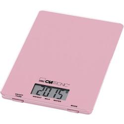 Clatronic KW 3626 LCD Küchenwaage digital Wägebereich (max.)=5kg Pink