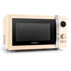 2in1 Mikrowellen-Ofen Retro mit Grillfunktion Grillrost 23L »Fine Dinesty«, Mikrowellen, 76364321-0 beige beige