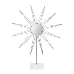 Skulptur Ajey 387 Silber / Weiß