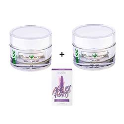 AloeVernis® BASIC aloe vera Bio Cell Cream 50 ml + Collagen night cream 50 ml...