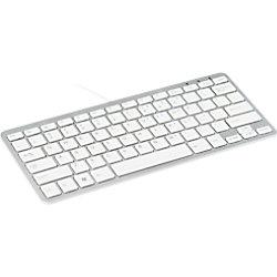 R-Go Tools Tastatur Verkabelt Kompakt-Tastatur QWERTZ DE Weiß