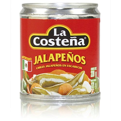 La Costena ganze Jalapenos, 2er Pack (2 x 220 g)