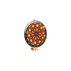 New Sports Dartscheibe Sicherheits-Dart-Spiel, 37 cm