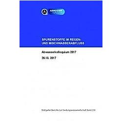 Spurenstoffe im Regen- und Mischwasserabfluss - Buch