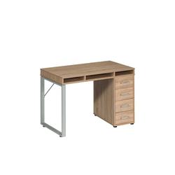 Büro Schreibtisch mit Schubladen 120 cm