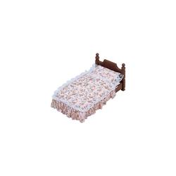 EPOCH Traumwiesen Puppenhausmöbel Sylvanian Families Antikes Bett