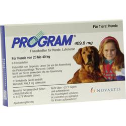 Program Tabletten für gr. Hunde