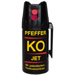 Ballistol PFEFFERSPRAY KO JET - Pfefferspray - schwarz