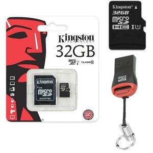 Original Kingston MicroSD 16 - 256GB Für Samsung Galaxy Tab A 10.1/ A7 2016