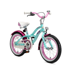 bikestar Premium Sicherheits-Kinderfahrrad 16 Cruiser, mint