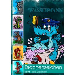 Drachenhoroskop 2021 (Wandkalender 2021 DIN A3 hoch)