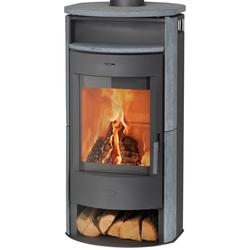 Fireplace Kaminofen Prag, 6.5 kW, Zeitbrand