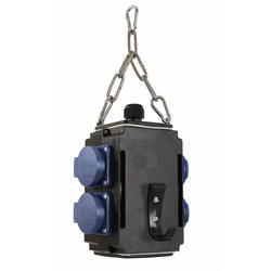 Energiewürfel I+ 4 Steckdosen 230V, mit Druckluftanschluss
