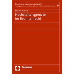 Höchstaltersgrenzen im Beamtenrecht als Buch von Benedikt Burkardt