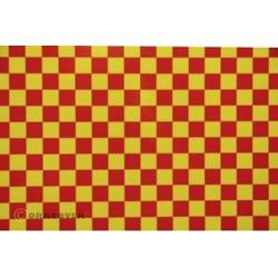 Oracover 44-033-023-010 Bügelfolie Fun 4 (L x B) 10m x 60cm Gelb, Rot