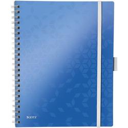 Collegeblock »WOW Be Mobile 4645« A4 kariert, FSC-Papier blau, Leitz