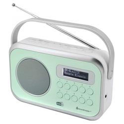 Soundmaster DAB270GR Digitalradio DAB+/UKW-RDS grün Einschlaf-/Schlummerfunktion Digitalradio (DAB) (Digitalradio (DAB), UKW mit RDS)