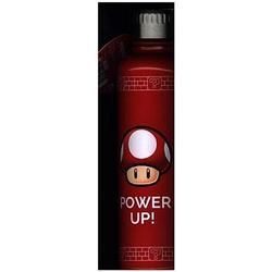 Super Mario Metall Wasserflasche Power Up
