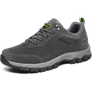 Classic Pink Herren Trail Running Schuhe Wanderschuhe Leichte Sneaker Trekking Outdoor Wanderschuhe Grau 48 EU