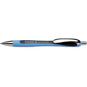 Schneider Kugelschreiber Slider Rave blau Schreibfarbe schwarz