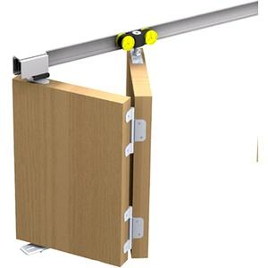 Mantion Schiebetürbeschlag Tango 40-120 für 1 Falttür Faltschiebetür bis 120 cm