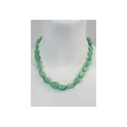 Adelia´s Kette ohne Anhänger Chrysopras Stein Halskette