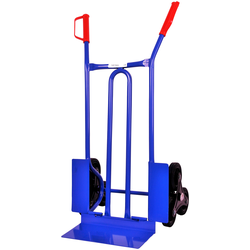 SZ METALL Treppensackkarre, 250 kg blau Sackkarren Transport Werkzeug Maschinen