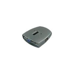 Sedna SE-KVM-USB-22 - KVM-/Audio-Switch - 2 x KVM/Audio