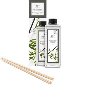 Ipuro Raumduft Essentials, 500 ml, Nachfüller, mit Stäbchen, black bamboo