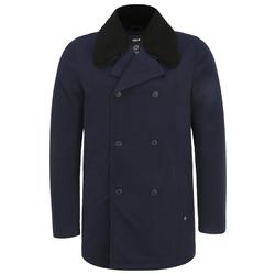 !Solid Herren Wollmantel 'Pinto' blau / dunkelblau / navy, Größe M, 5096786