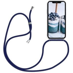 Oihxse Hülle ersatz für iPhone 6S Plus Hülle,mit Kordel zum Umhängen -Transparent Silikon Handy Schutzhülle für iPhone 6 Plus,Crystal Clear Shell mit Schnur-Necklace Handyhülle-Vier Eckenschutz (1Q)