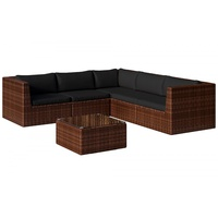 Baidani Surprise Select Lounge-Set braun/schwarz