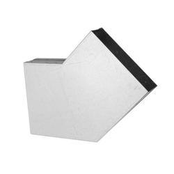 200 x 90 mm Flachkanal Bogen 30° waagerecht