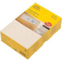 Frankier-Etiketten Doppel-Etikett weiß 150 x 45mm VE=500 Etiketten