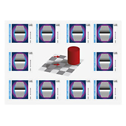 Deutsche Post 1,10 € Briefmarken Zwei Grautöne