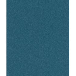 Rasch Vliestapete GLAM, geprägt, uni, (1 St) blau