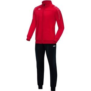 JAKO Kinder Classico Trainingsanzug Polyester, rot, 116